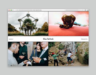 Website Illias Teirlinck