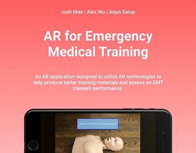 Augmented Reality for EMT Training and Assessment