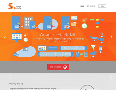Web Design for ServiceBiztalk.com