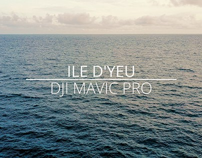 Ile d'Yeu - DJI Mavic Pro