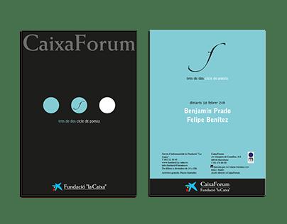 Caixa Fòrum's Cycle of Poetry