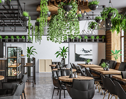 Loft cafe in HOP