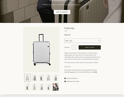 travel bag Store