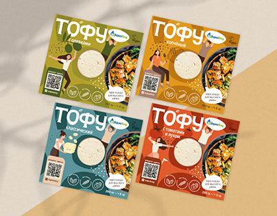 Tofu cheese   Packaging design