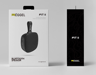 Plan.B   FIT II Bluetooth Speaker Packaging