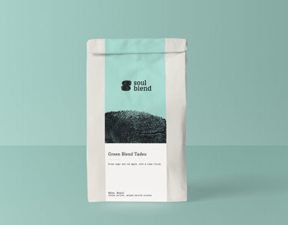 Soul Blend Coffee shop Identity