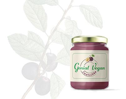 Genial Vegan   Branding