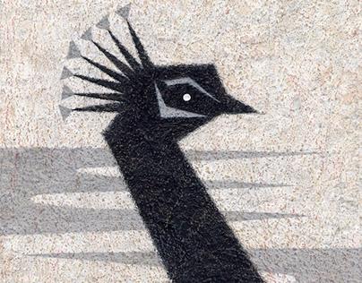 Peacock /Hand drawn
