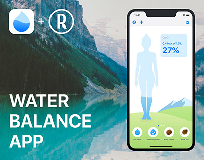 Waterbalance: drink tracker for iOS and Android