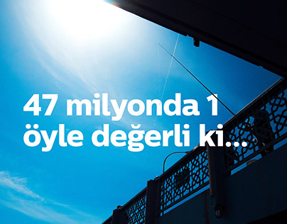 Türk Telekom 47 Milyonda 1