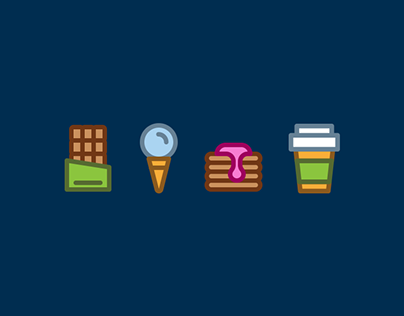 96 Cooking Icons - Free Download