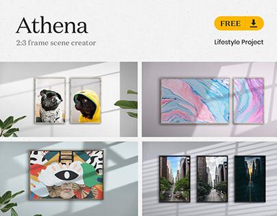 [FREE] Athena - 2:3 Frame Scene Creator