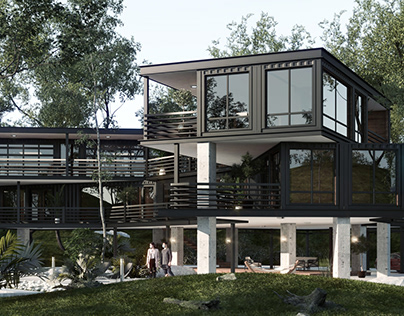 Shipping Container House-USA
