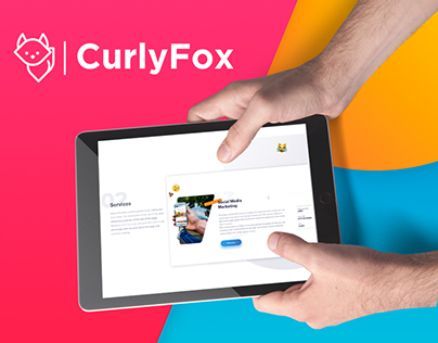 CurlyFox | Website Design