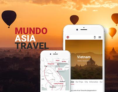 Mundo Asia Travel Website