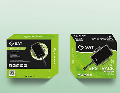 Caja GPS TRACK SAT con nuevo color corporativo