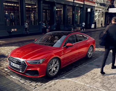 Audi A7 CGI