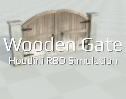 Wooden Gate Destruction