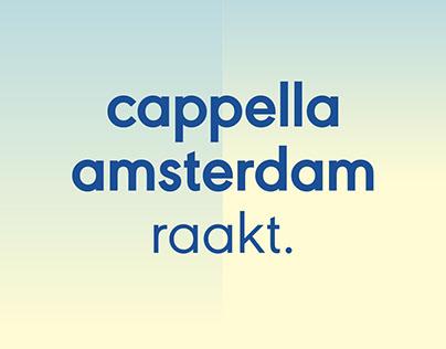 Cappella Amsterdam – Visual Identity
