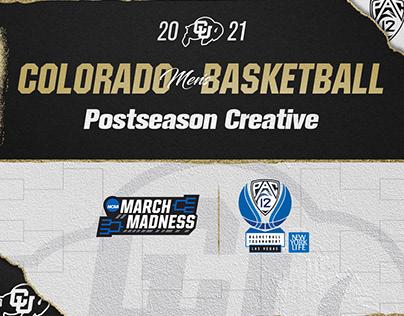 Colorado Men's Basketball 2021 Postseason
