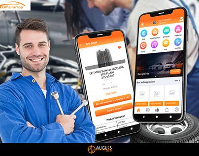OfficineTop: Ecom & Car Servicing App