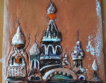 Ceramic Saint Basil's Cathedral