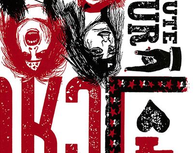 Mötley Crüe Gig Poster