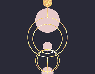 Lines and Circles with Gold