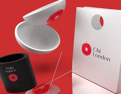 Chi restaurant Branding