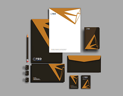stationery design for a production company