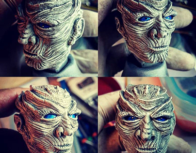 """NIGHT KING """"action figure"""". . .Game of Thrones"""