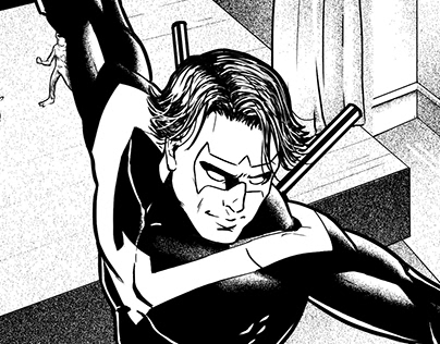 Nightwing - Sample pages