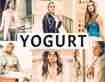 Free Yogurt Mobile & Desktop Lightroom Preset