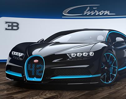 Bugatti Chiron - 2017