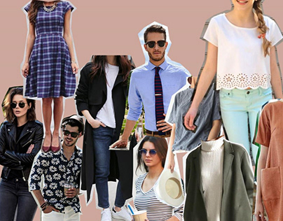 Portfolio for Fashion Stylist