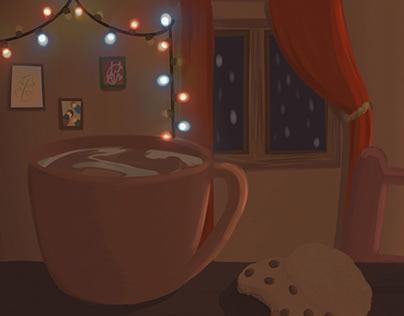 Winter Illustration (GIF)