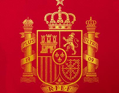 Retro retake for the Royal Spanish Football Federation