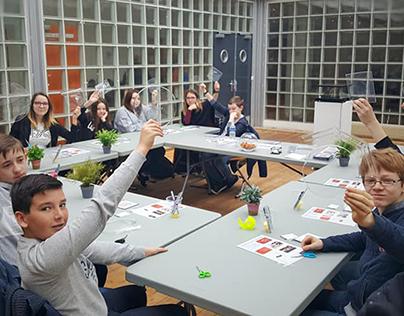 Atelier hologramme de poche Safra'Numériques