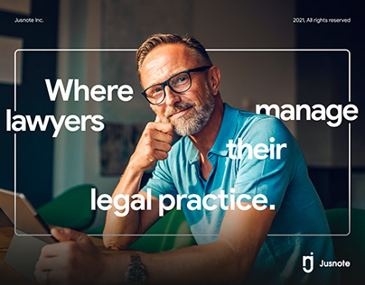 Where lawyers manage their legal practice | Jusnote Inc
