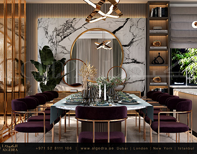 Modern Dining room Design by ALGEDRA