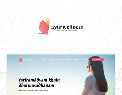 Ayurwellness Website UI design | Tecort Innovations
