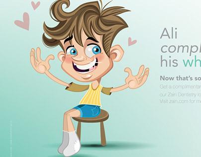 Zain - Oral Care Ads