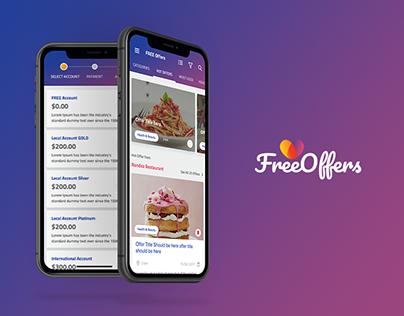 Free Offer iOS App