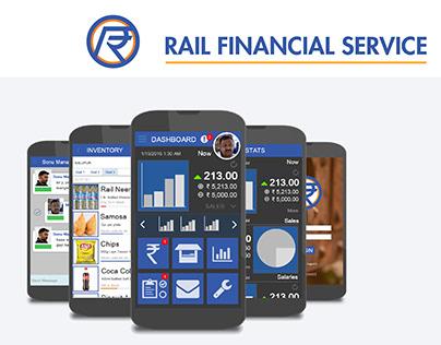 Mobile App: Rail Financial Service