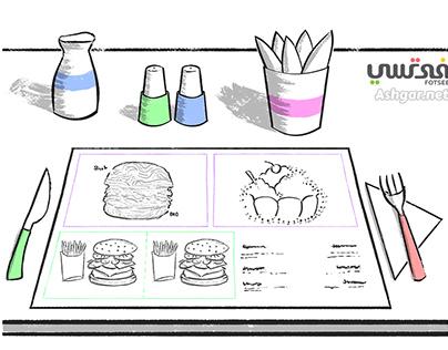 Business Illustration - Burger Store