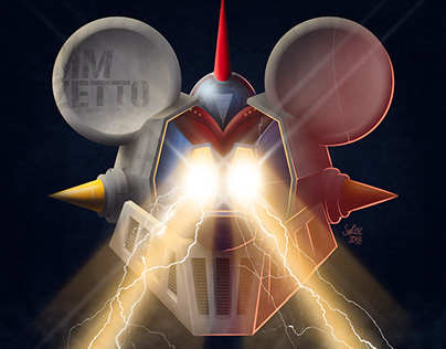 MM - Zetto Poster Variant (Mickey Mouse Z)