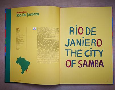 brazilian recipes book design