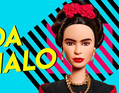 Pieza Publicitaria Barbie