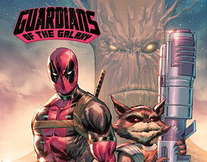 MARVEL: Guardians of The Galaxy Cover