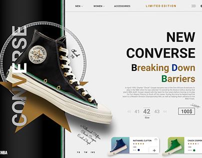 Converse (Web-Design)
